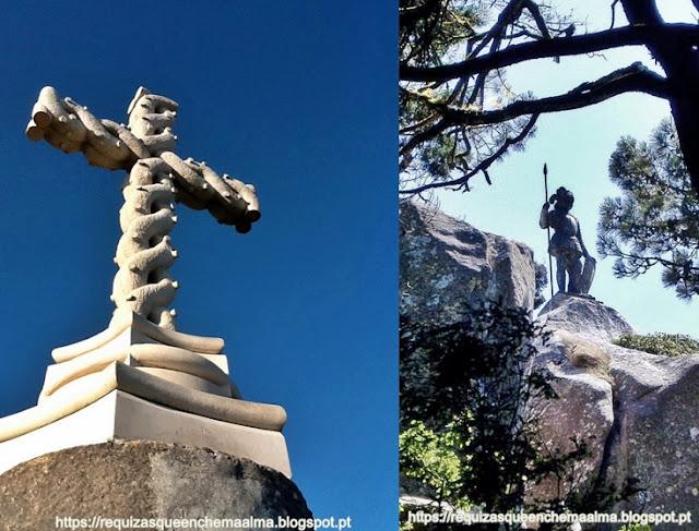 Cruz Alta,Gruta do Monge, Parque do Palácio da Pena