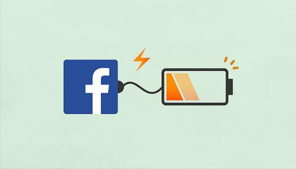 مسح تطبيق الفيس بوك يساعدك على توفر اكثر من 20% من طاقة البطارية