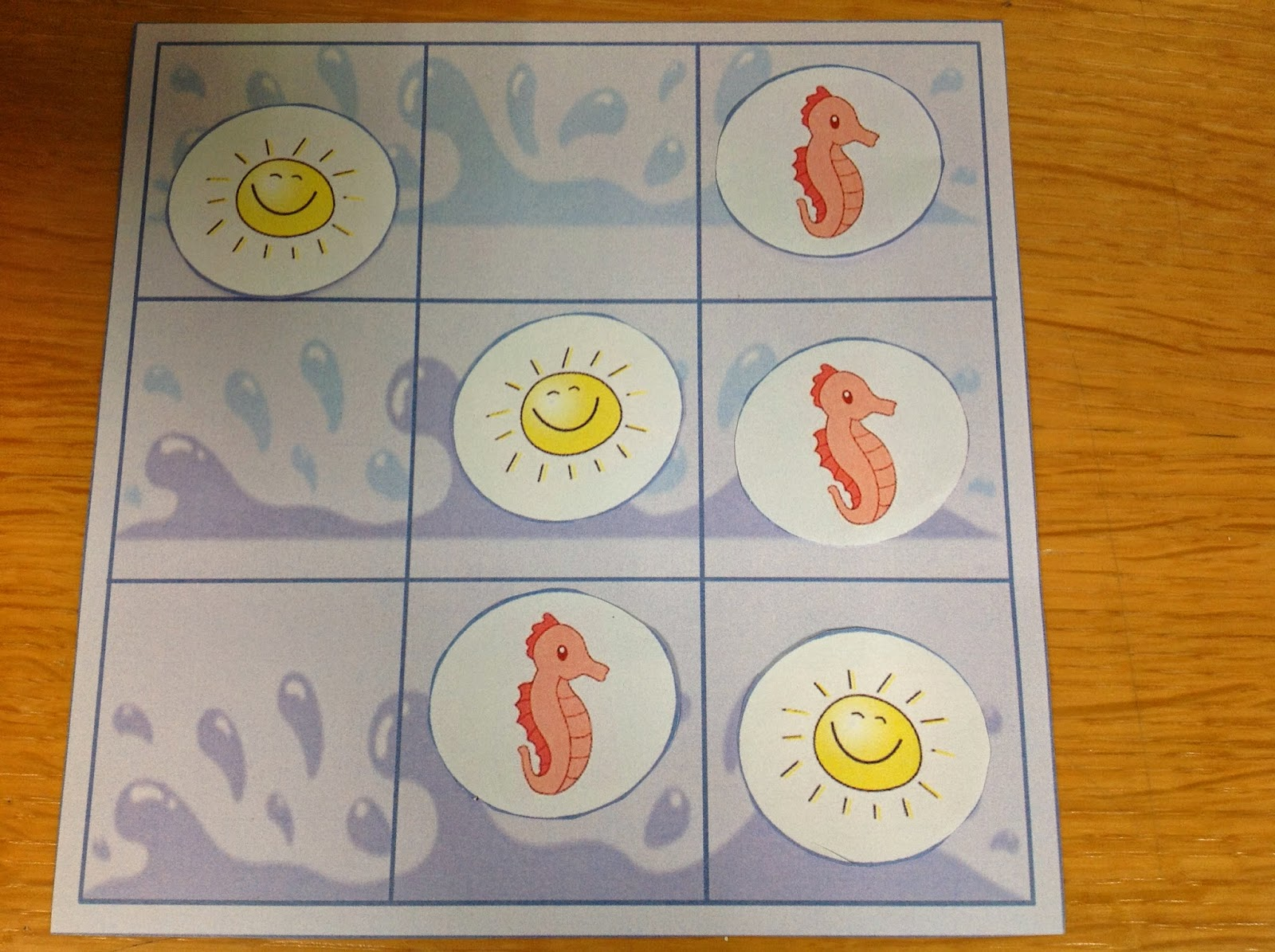 tic tac toe printable game