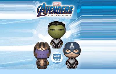 Avengers: Endgame Dorbz Vinyl Figure 3 Pack by Funko x Marvel