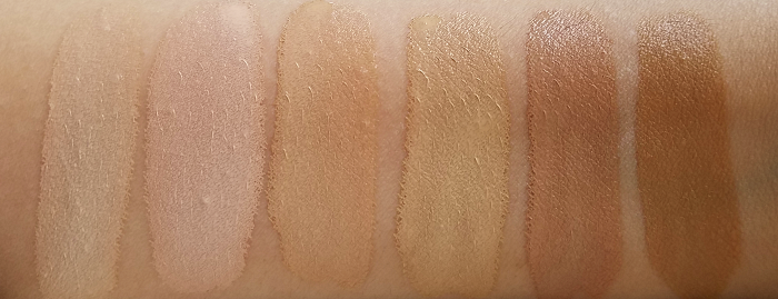 L´Oreal Paris - Perfect Match Concealer - Review Swatches Rose Ivory 1C - Ivory 1N - Vanilla 2N - Creamy Beige 3N - Beige 4N - Golden Honey 6W 1