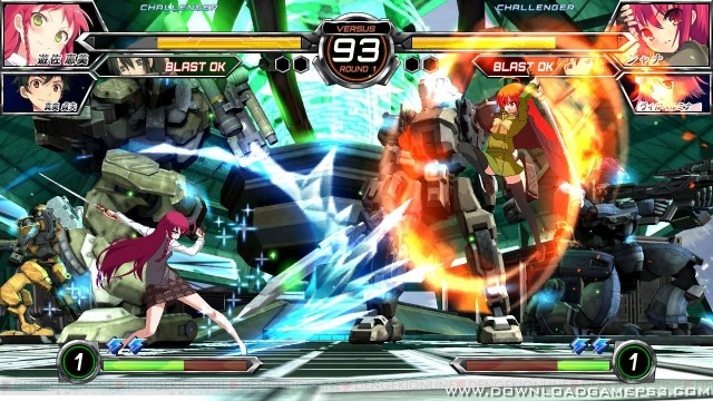 Dengeki Bunko Fighting Climax Ignition - Download game PS3 PS4 RPCS3