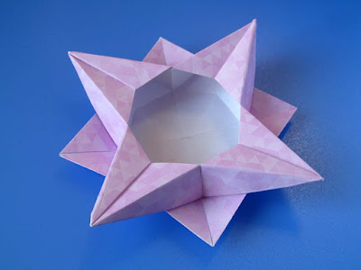 Origami, Scatola a stella 4 - Star box 4 © by Francesco Guarnieri
