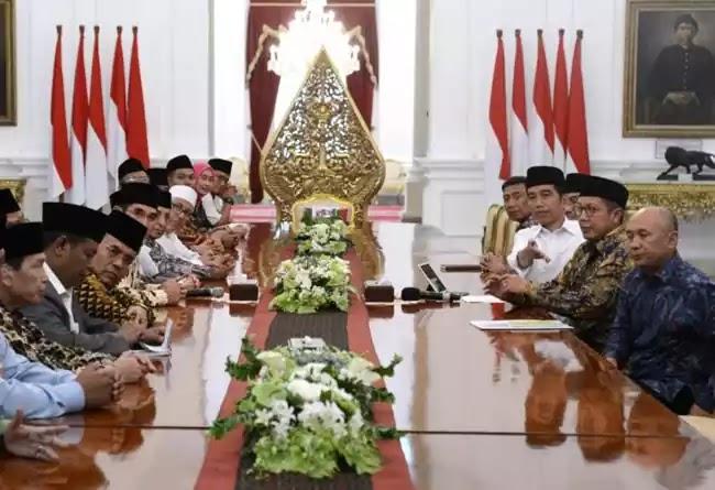 Jokowi temui ulama jelang pilkada dki