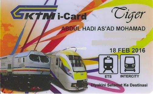 Permohonan Kad Diskaun Pelajar KTMB i-Card Student Discount Card Application