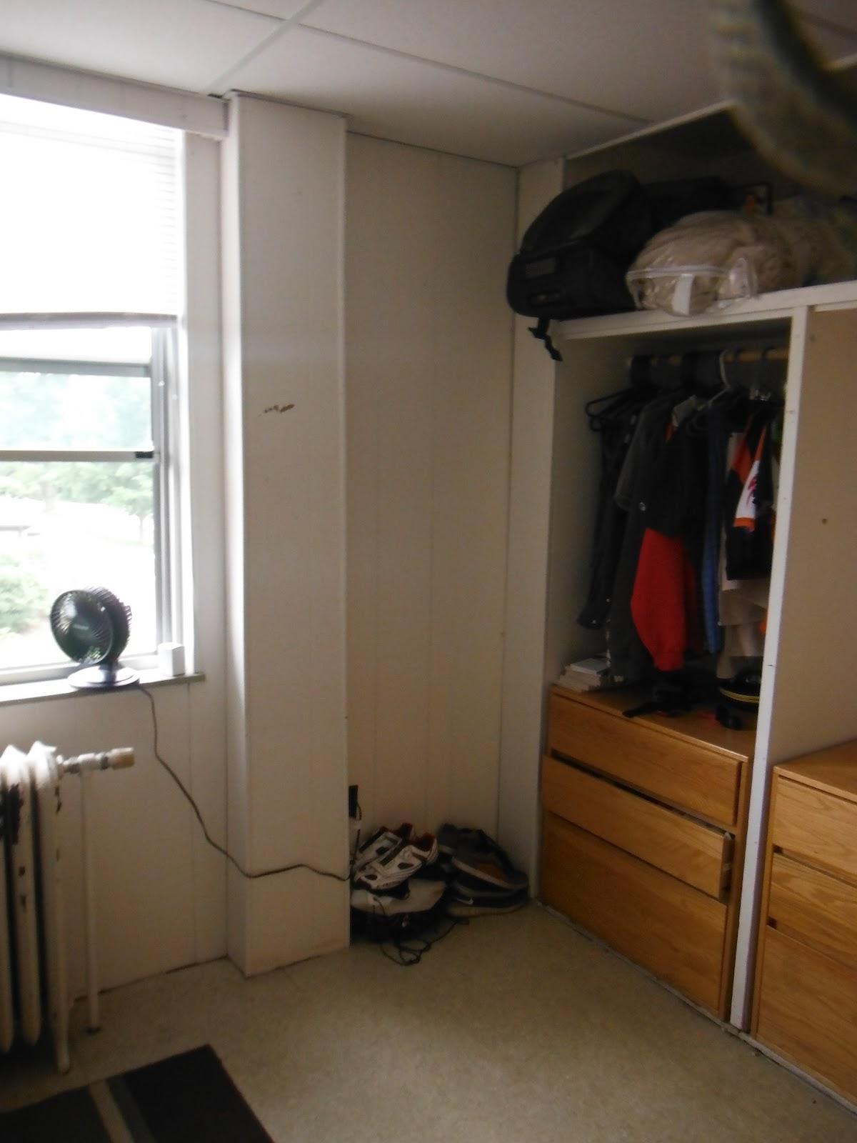 Dorm Room Closet: Training Blog: Dorm Room