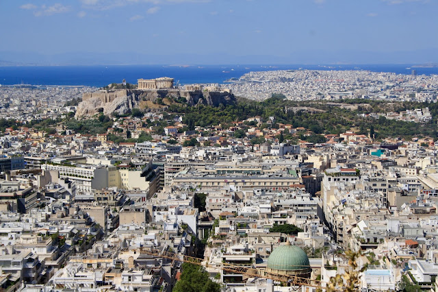 athens sightseeing mount lycabettus cable car