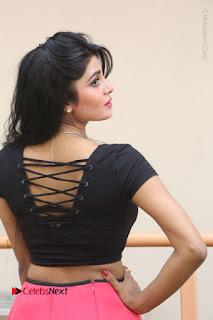 Telugu Actress Harini Stills at Dhyavudaa Movie Teaser Launch  0133.JPG
