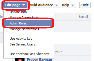 How To  Add Admin to a Facebook Page