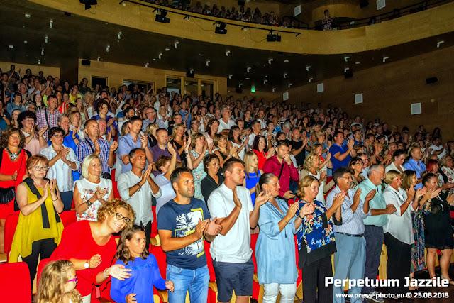 Koncert PERPETUUM JAZZILE Opatija 25.08.2018, centar Gervais