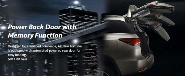 exterior all new toyota fortuner
