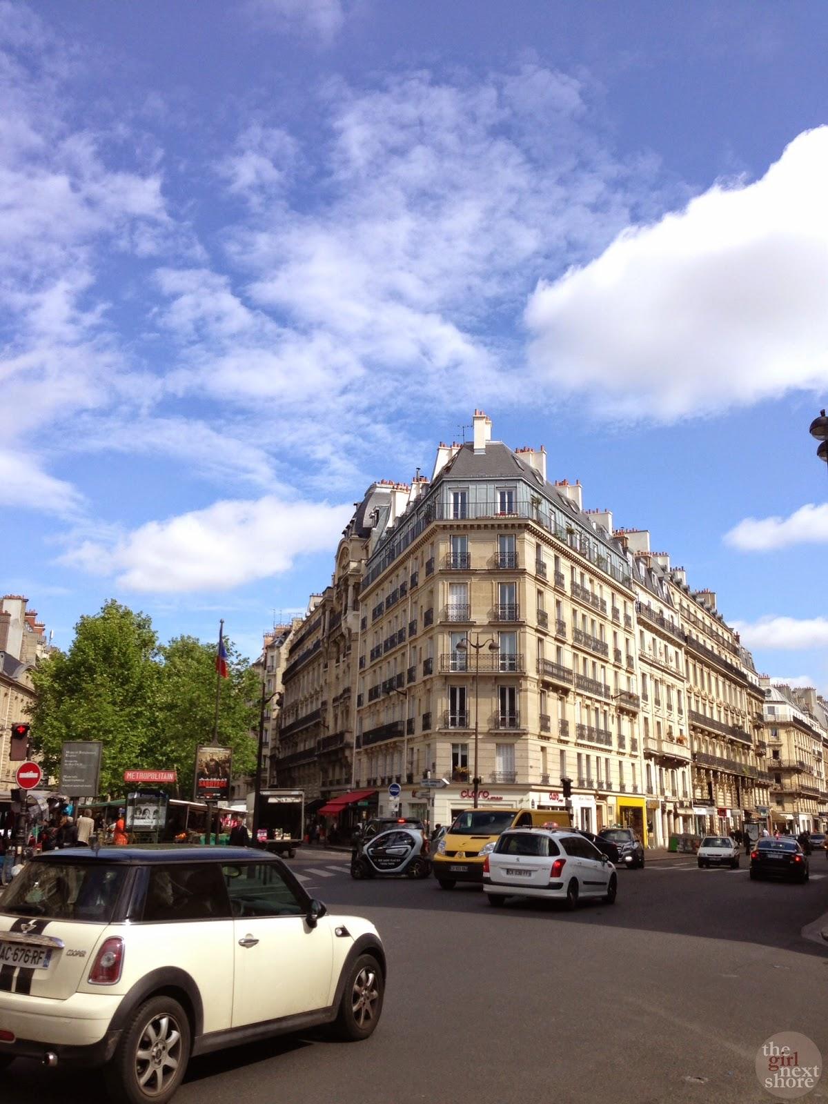 Plaid Boy and Girl Next Shore in Paris: Saint-Germain, Notre Dame & Love Locks