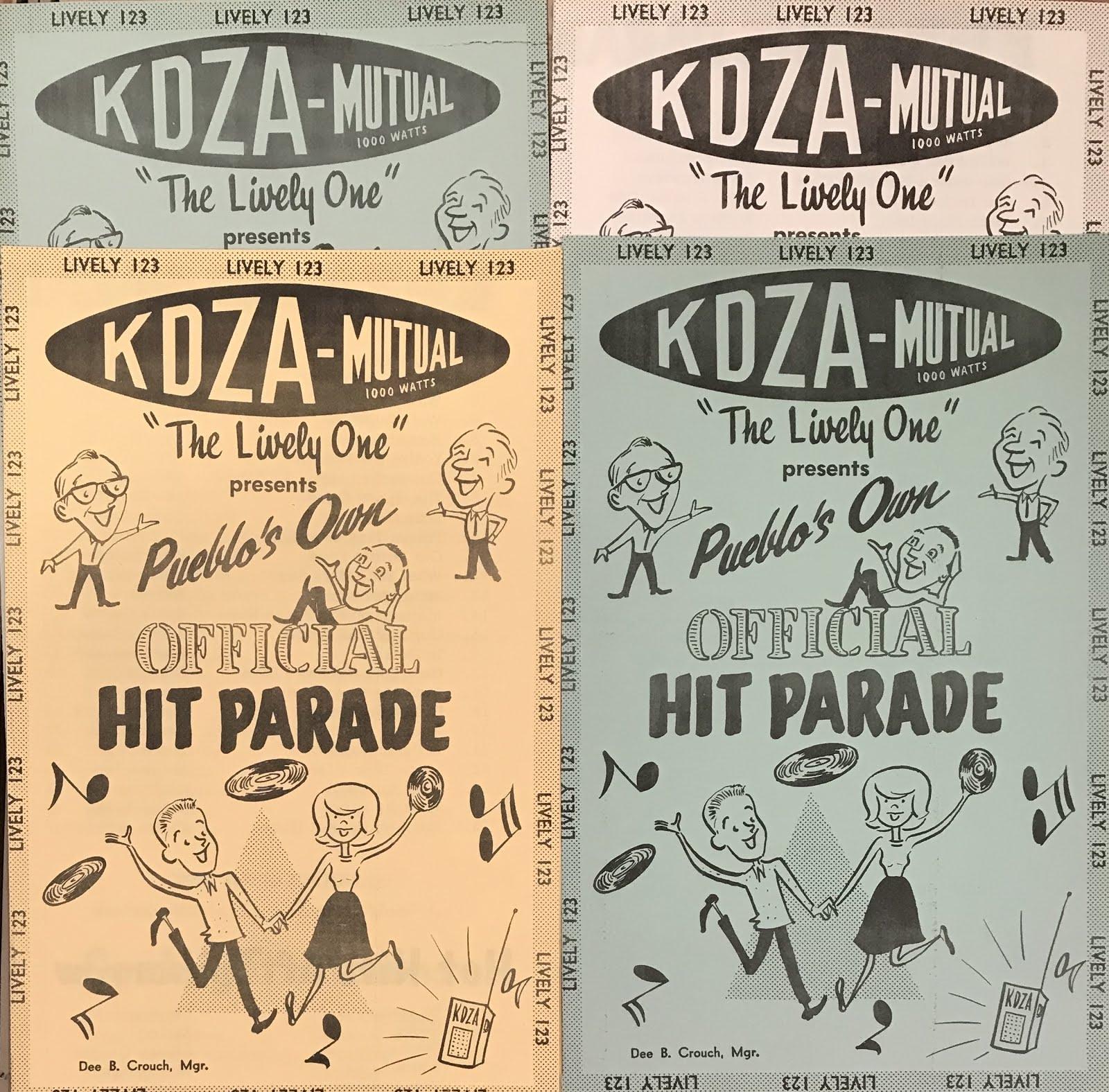 Elk Bugles: KDZA 1963: Pueblo rock 'n roll radio, 55 years ago