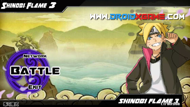 Download Game Android Boruto Senki Shinobi Flame 3 MOD APK [All Character Unlocked]