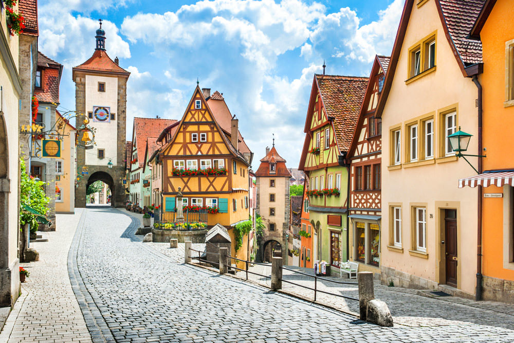 10 Breathtaking Towns In Germany - Rothenburg ob der Tauber