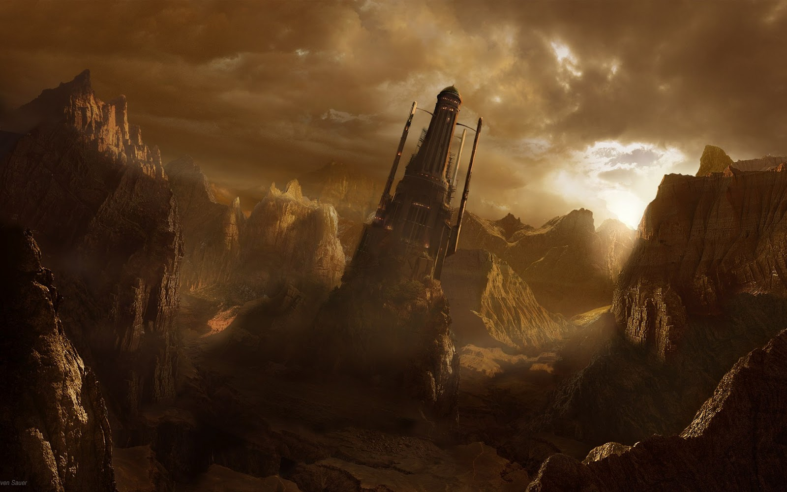 Dual Screen Hd Fantasy Wallpapers Get Your Fix Here: Infinity4Every1: Amazing Fantasy Art
