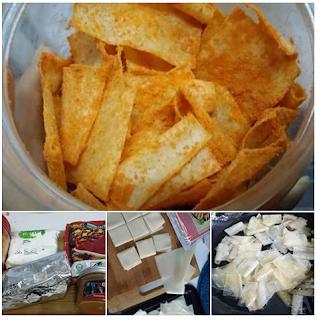 Resepi Kerepek Popia Pedas Cheese Volcano