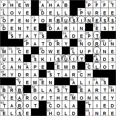 Web S L A Times Crossword Solution Laxcrossword Com Page 3 Chan 61497873 Rssing Com We hope that the following list of synonyms for the word arp will help you to if your word has any anagrams, they'll be listed too along with a definition for the word if we have one. web s l a times crossword solution