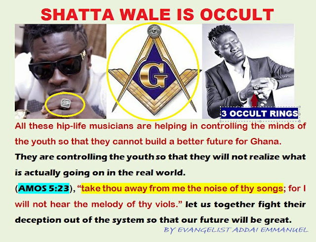 Occultic Life Of Shatta Wale Exposed By Powerful Prophet