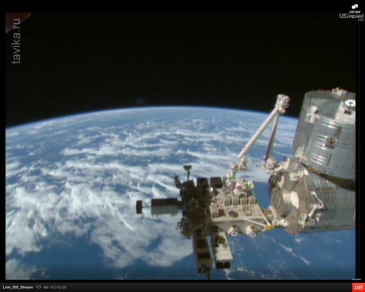 Земля с МКС