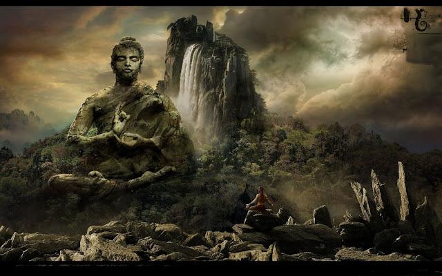 Đạo Phật Nguyên Thủy - Kinh Tương Ưng Bộ - Ví dụ hòn núi
