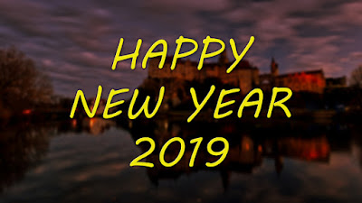 Happy New Year 2019,Calender 2019