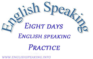 Eight days English Practice