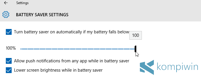 4 Tips Menghemat Baterai Laptop di Windows 10 dengan Fitur Battery Saver 4