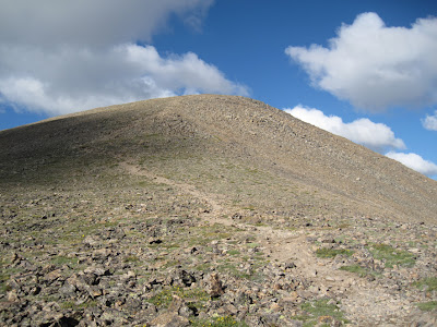 Near the summit of Mt. Elbert