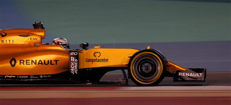 Renault F1 Team regresó en la temporada 2016