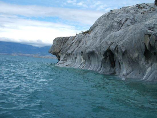 Patagonia South America >> Marble Caves, Chile Chico, Chile ~ The Amazing World