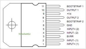 Dictionary of Electronic Components: TDA2004