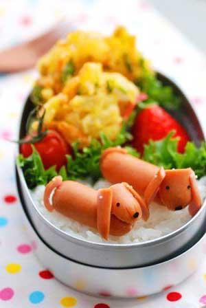 собачки из сосисок