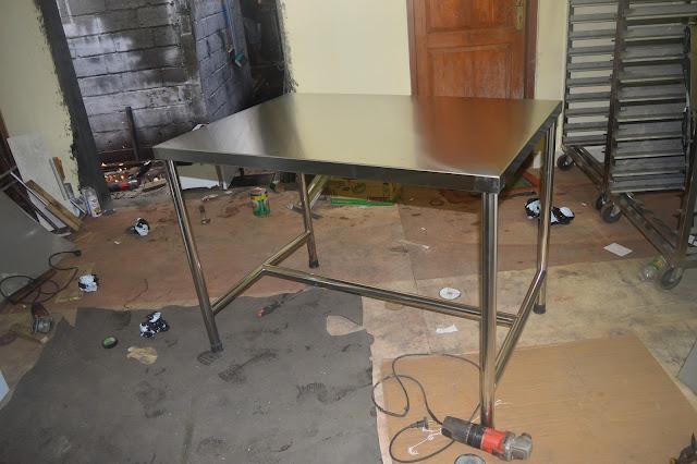 meja dapur stainless harga murah by reymetal.com