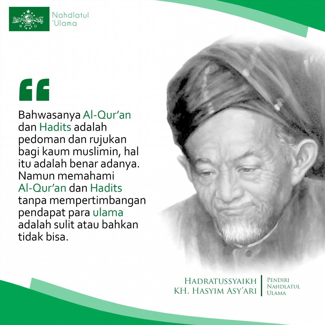 Pesan Hadratusy Syaikh KH Muhammad Hasyim Asy'ari (Pendiri Nahdlatul Ulama). Foto: PCNU Ponorogo.