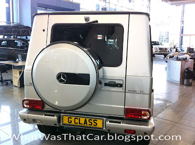 Car of the Day # 22 Mercedes G-Klasse