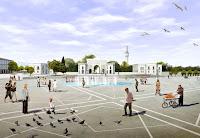 İstanbul Beyazıt meydanı tasarımı