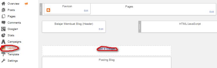 cara membuat recent post di blogger