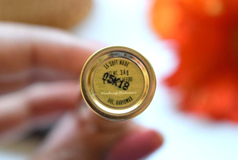 Lakme Argan Oil Lipstick - Soft Nude
