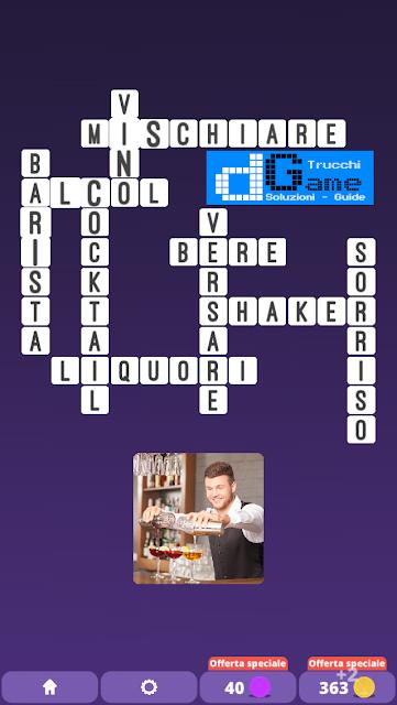 Soluzioni One Clue Crossword livello 25 schemi 4 (Cruciverba illustrato)  | Parole e foto