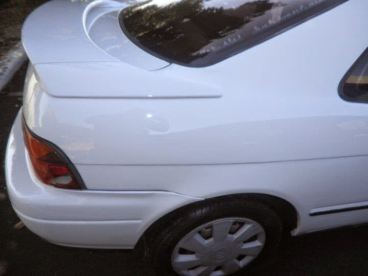 Toyota after auto body damage repair at Almost Everything Auto Body