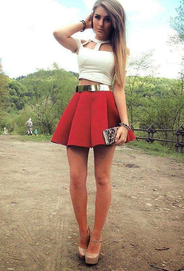 491a4d3084 ¡26 Imágenes Moda OUTFITS FANTÁSTICOS y de faldas cortas H6Unt6r