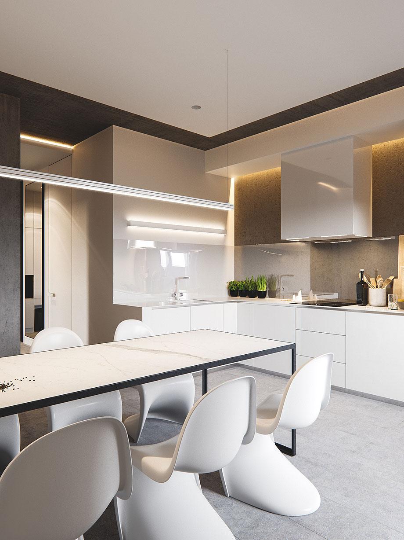 Marzua dise o interior minimalista por m3 architects - Diseno interior minimalista ...