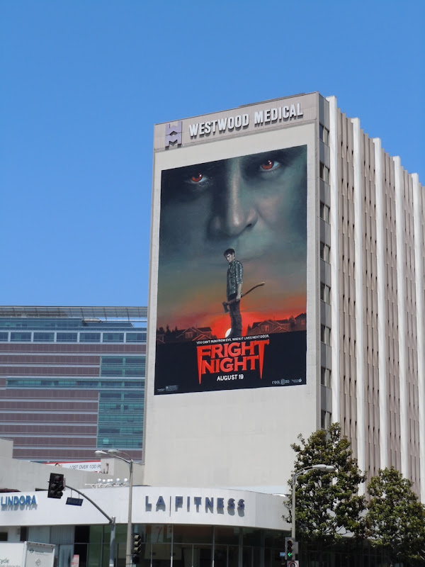 Fright Night movie remake billboard