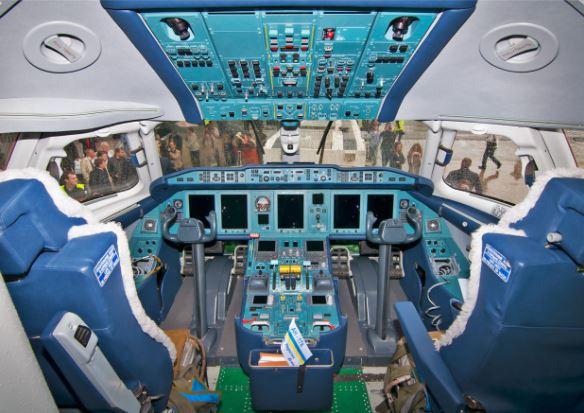 Antonov An-178 cockpit