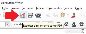 Exportar diretamente como PDF