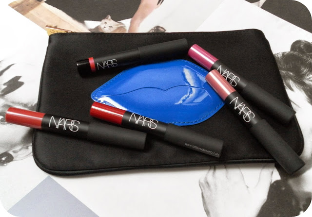 Smitten over NARS Guy Bourdin Promiscuous Lip Coffret