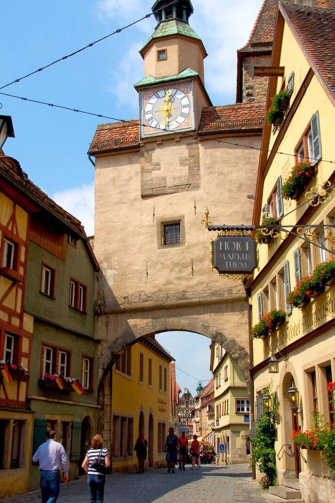 Una joya medieval en alemania rothenburg ob der tauber - Rothenburg ob der tauber alemania ...