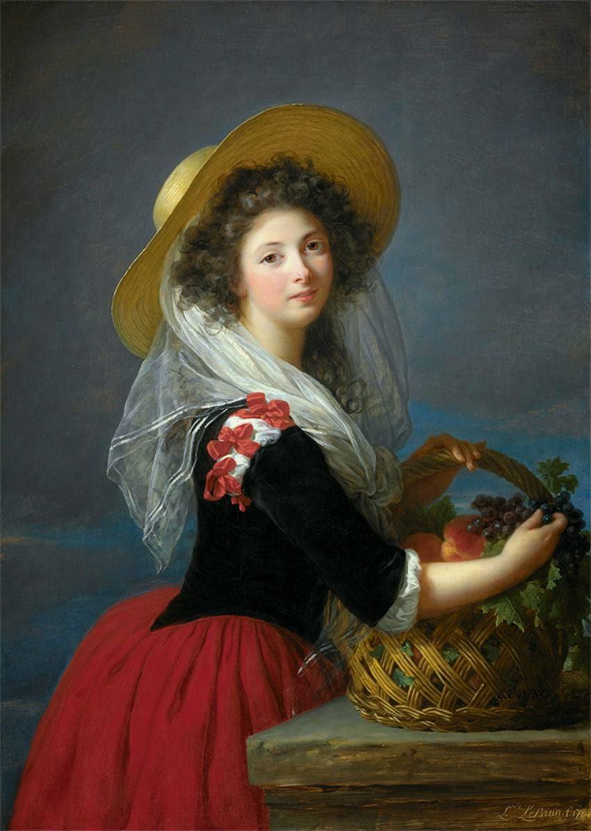 Duchesse de Caderousse (1784), Elisabeth Vigée-Lebrun