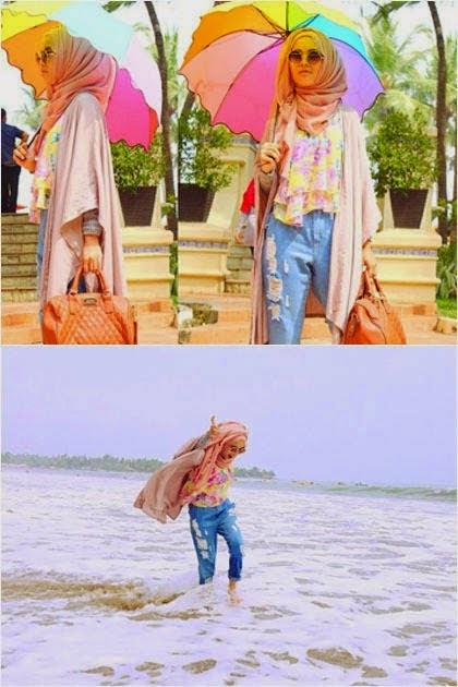 Model Baju Busana Hijab Untuk Liburan